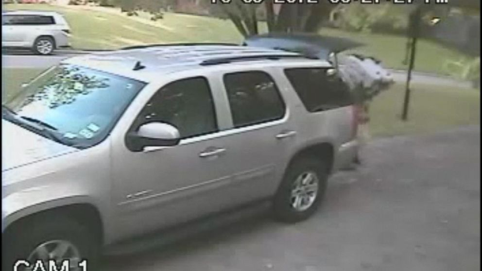 3353c5c5a27 Thieves Only Need Seconds to Steal SUV Seats Video - ABC News