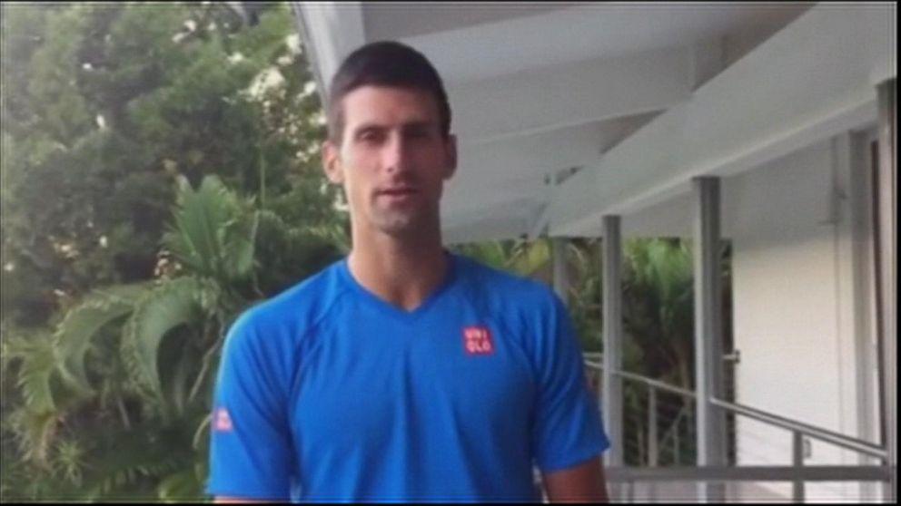 Novak Djokovic Apologies After Fiery Behavior On The Court Video Abc News