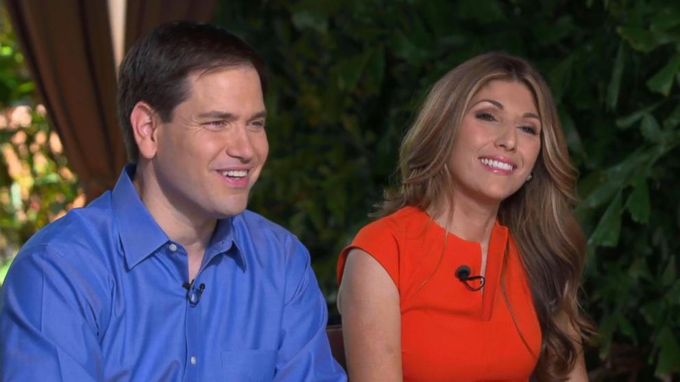 Marco Rubio, Wife Jeanette Dousdebes on Marriage and the Miami ...