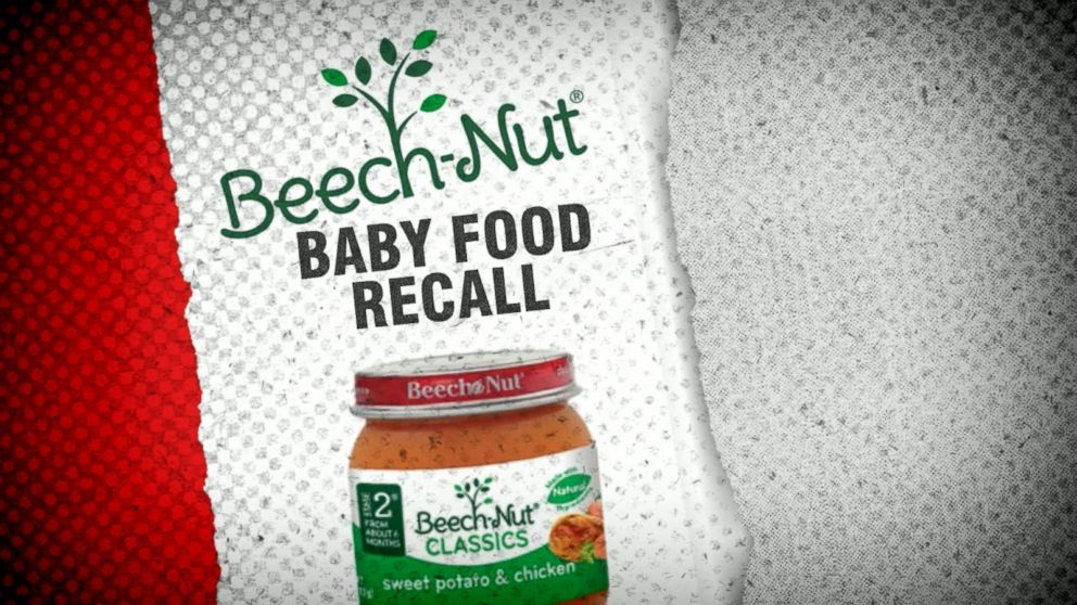 Beech-Nut Recalls 1,920 Pounds of Baby Food