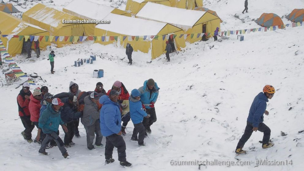 Nepal Earthquake: Climbers Caught on Everest With No Way Down