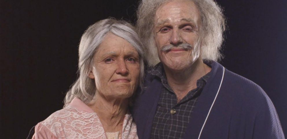 VIDEO: Engaged Couple Sees Themselves Age 60 Years in One Day