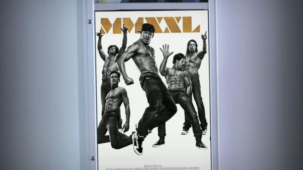 39 magic mike xxl 39 poster has fans steaming video abc news. Black Bedroom Furniture Sets. Home Design Ideas