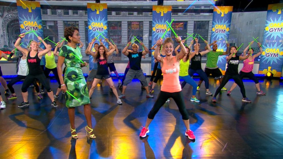 Pound Your Way To Fitness In Drum Based Workout Class