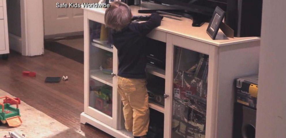 VIDEO: Hidden Hazard in Your Home: Tipping TVs, Furniture
