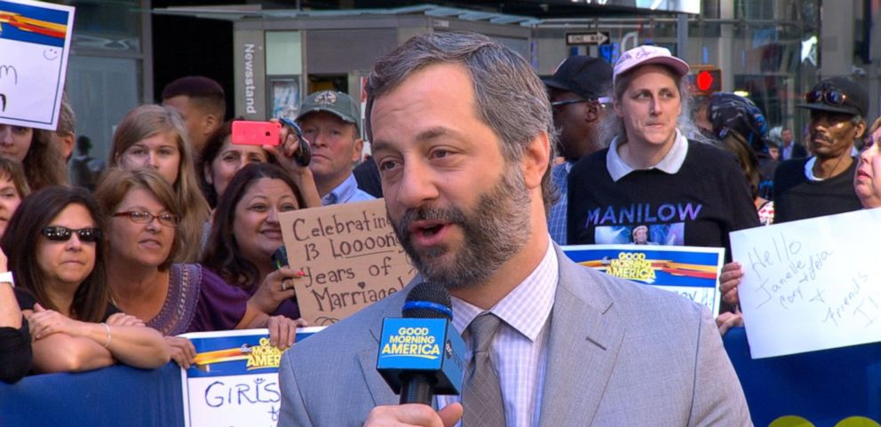 VIDEO: Judd Apatow Describes Being Sick in the Head in His New Book