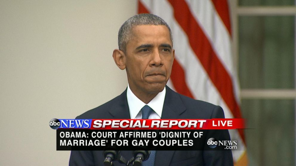 Barack obama and gay beliefs