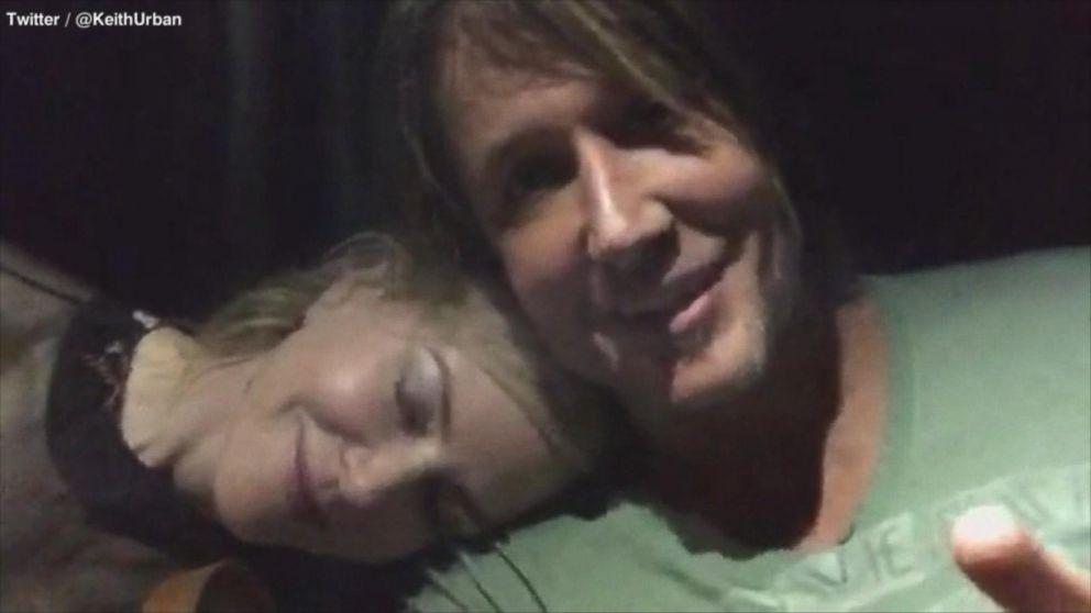 Keith Urban And Nicole Kidman Share Candid Anniversary