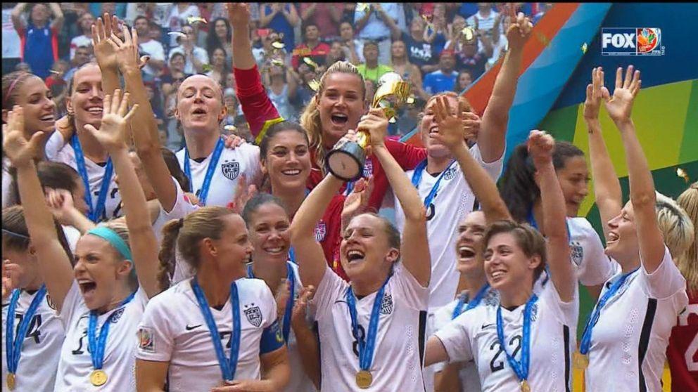 c712eb6fec0 buffering. Replay. Team USA Beats Japan in Women s World Cup Final. Carli  Lloyd ...