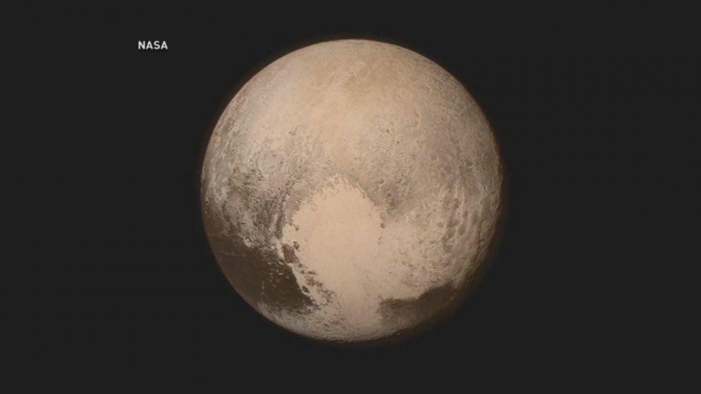 New Horizons Catches Dark Side of Pluto