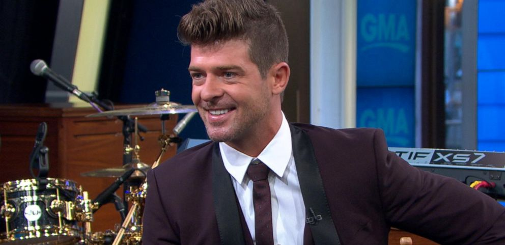VIDEO: Chart-topping Robin Thicke Discusses His New Album and Renewed Outlook on Life