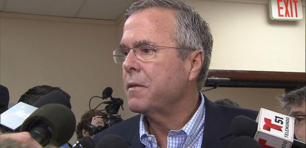 VIDEO: Feud Between Trump and Jeb Escalates