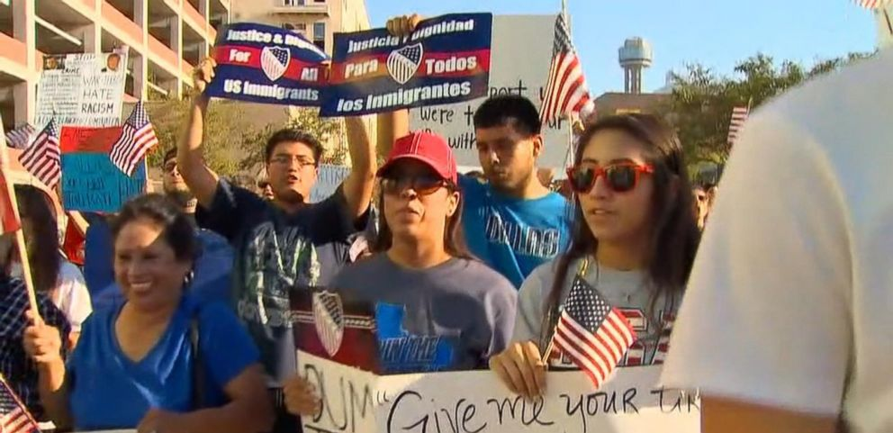 VIDEO: Donald Trump Faces Protesters at Most Recent Rally