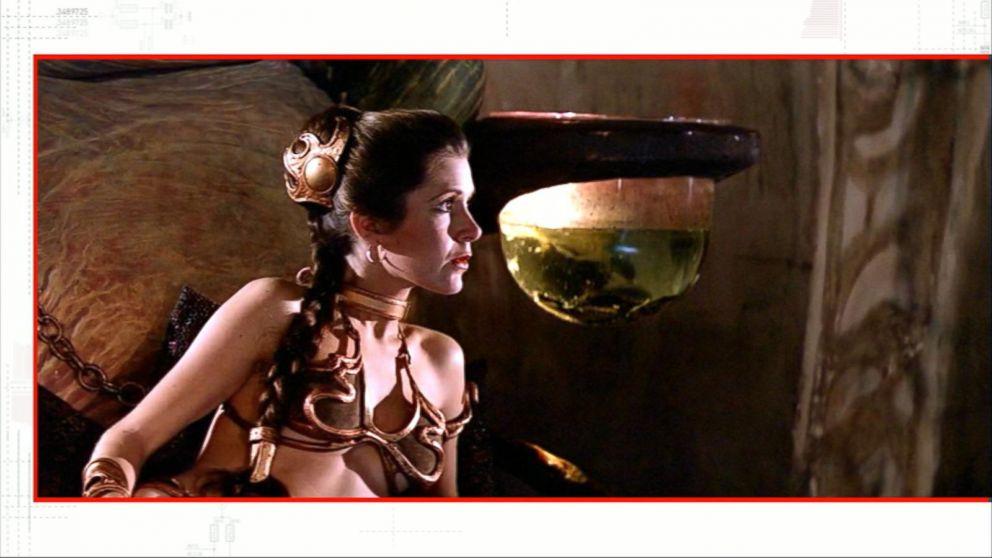 Princess leia gold bikini photo