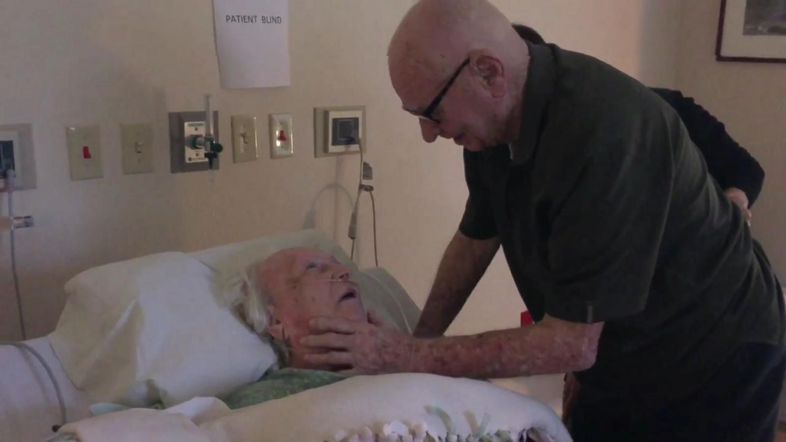 This 92-Year-Old Husband Serenading His Dying Wife Will Remind You That True Love Exists