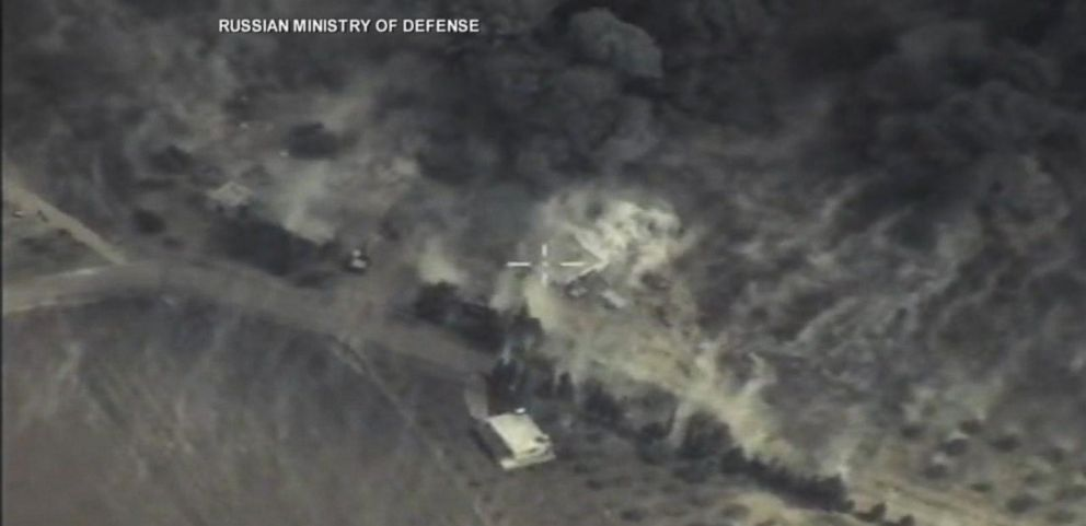 VIDEO: Russia Launches First Airstrikes in Syria