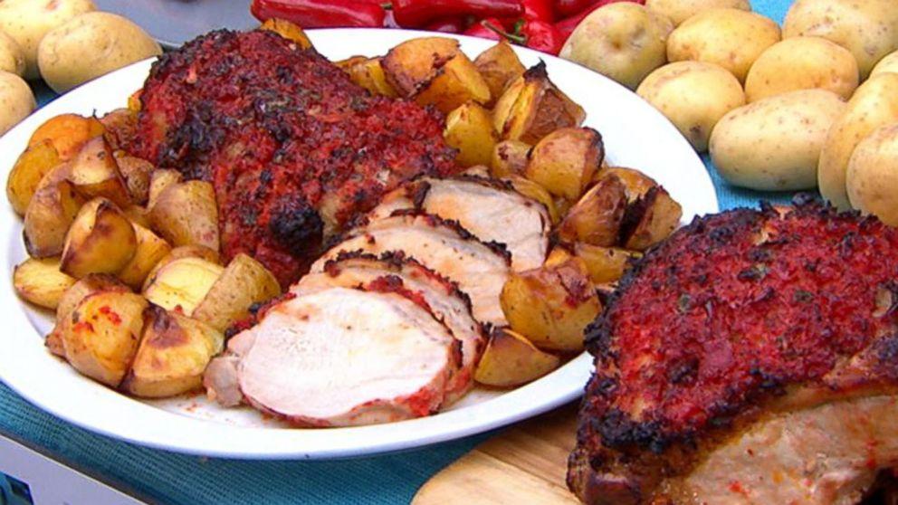 Emeril Lagasse Showcases Pork Loin and Malassadas Recipes