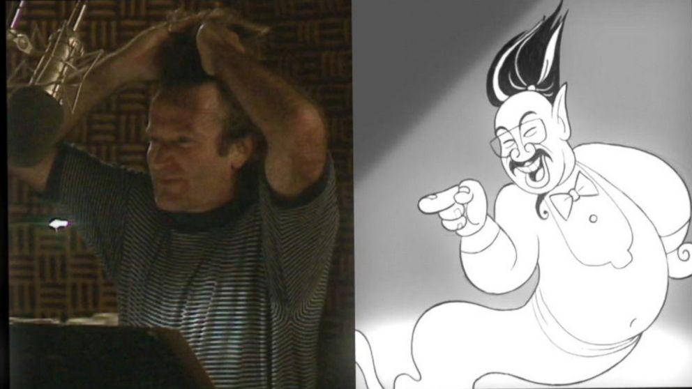 Never Before Seen Outtakes Of Robin Williams In Aladdin Video