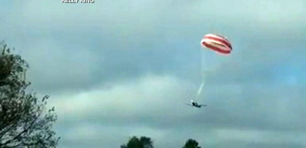 VIDEO: Parachute Saves Small Plane, Three Lives in Arkansas