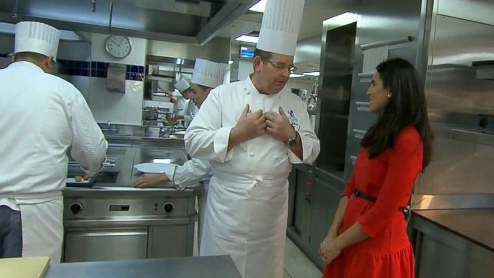 Lama hasan tours the ritz hotel 39 s kitchen in london video for Abc kitchen restaurant week menu