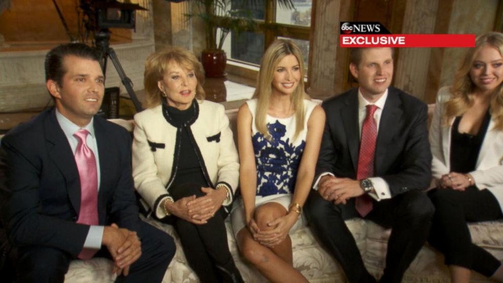 donald trumps family speaks out on presidential run video
