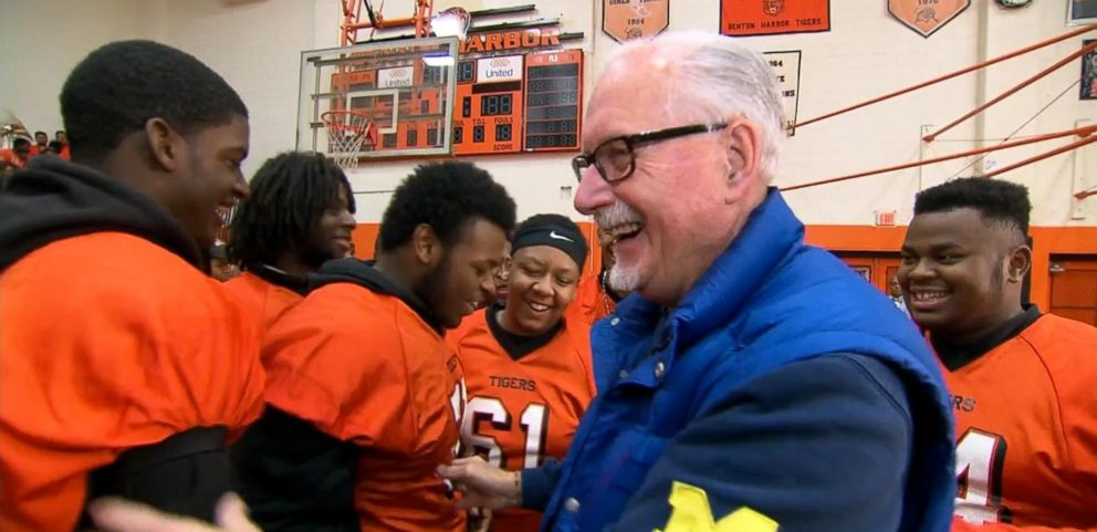 VIDEO: Football Coach Exits Retirement To Help Michigan High School Students