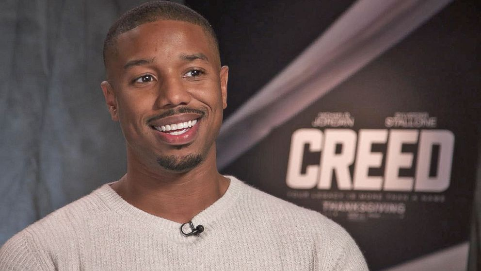 43277c57aeb18 How Michael B. Jordan Got His Body Fit for  Creed  Video - ABC News