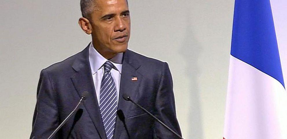 VIDEO: President Obama Addresses Terrorism In Paris Speech