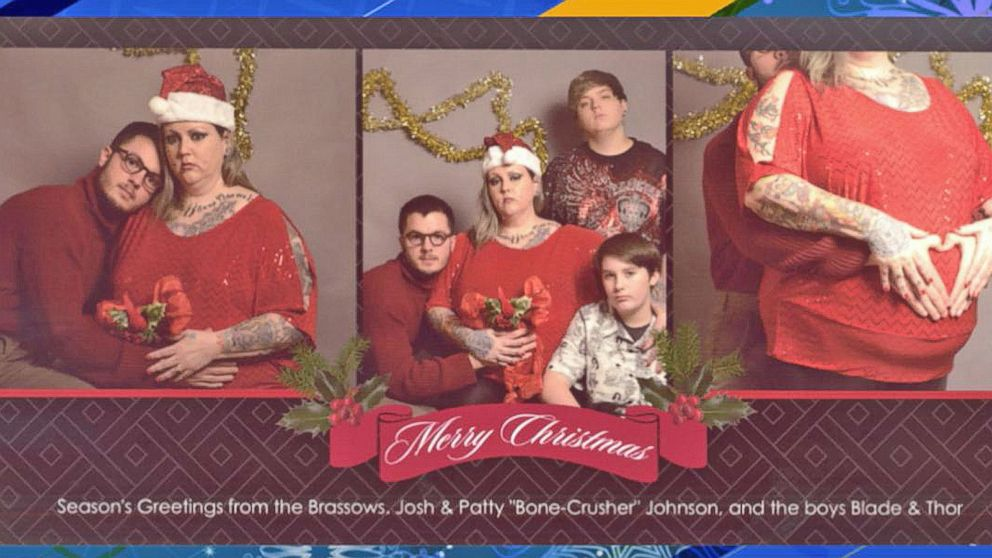 michigan college student hires fake family for christmas card abc news - Family For Christmas