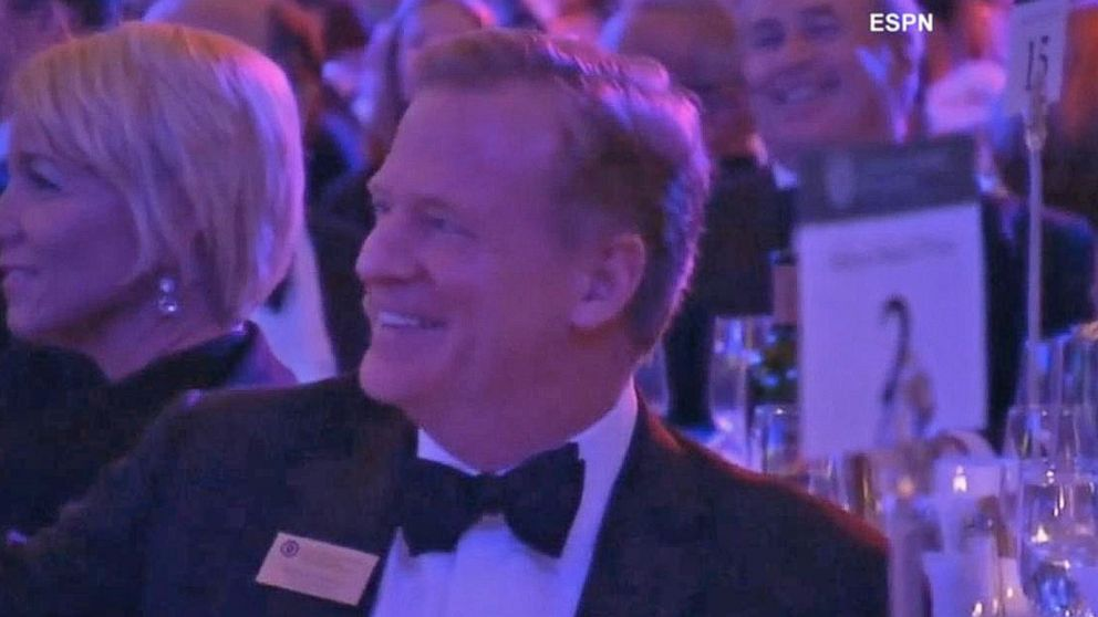 VIDEO: NFL Commissioner Recorded Laughing at Concussion Joke
