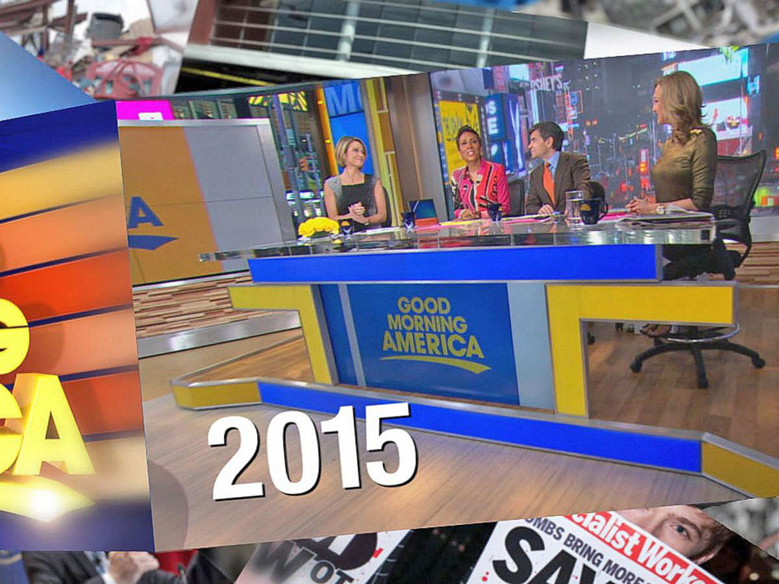 'GMA' Looks Back at 2015