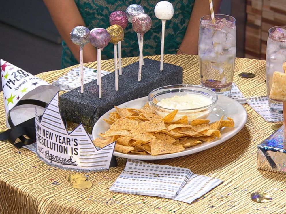 How to host a diy new years eve party for under 75 abc news video new years eve celebrations for under 75 forumfinder Gallery