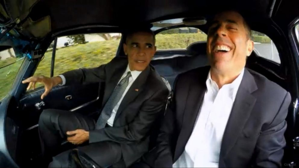 VIDEO: President Obama Stars in Comedians in Cars Getting Coffee