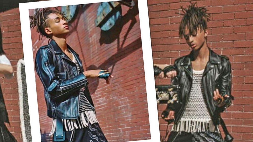 an analysis of racial elements in an advertisement by louis vuitton featuring jaden smith Jaden smith wears what he wants—be it a caped batman ensemble or a louis vuitton skirt will smith and jada pinkett smith's 17-year-old son actually modeled the latter as part of louis vuitton's series 4 spring-summer 2016 collection advertising campaign.