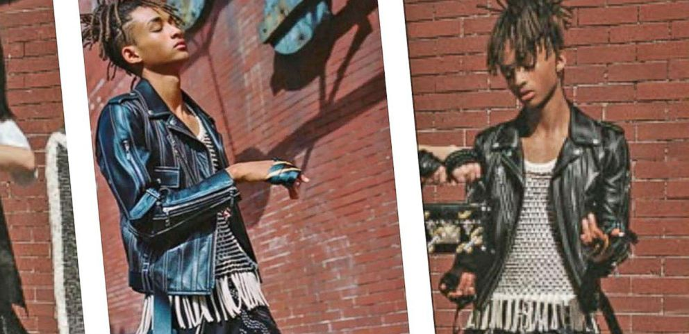 VIDEO: Jaden Smith Sports Skirt for Louis Vuittons Womenswear Campaign