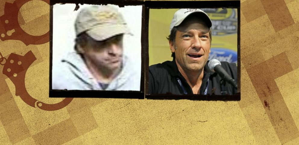 VIDEO: Reality-TV Star Mike Rowe Mistaken for Alleged Bank Robber