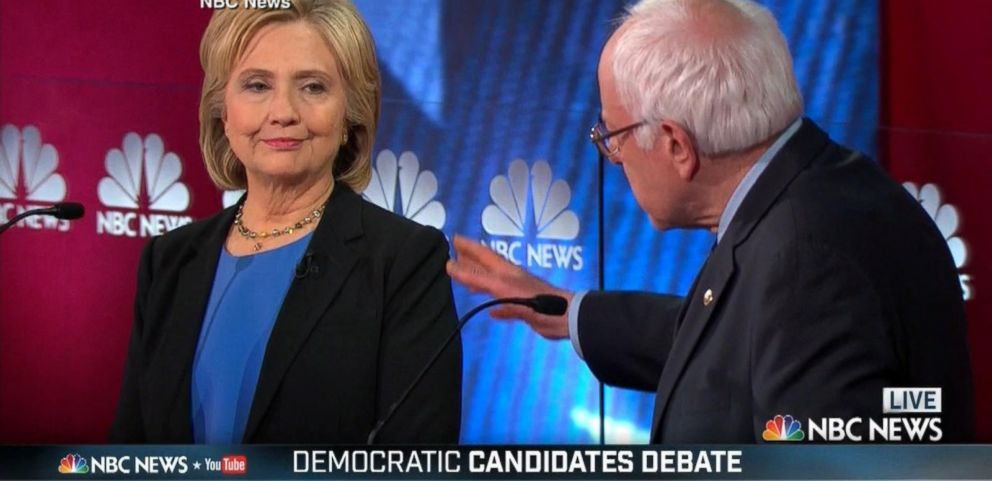 VIDEO: Bernie Sanders, Hillary Clinton and Martin OMalley Battle in Democratic Debate