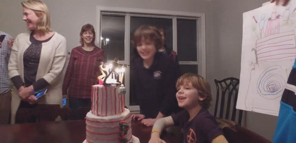 VIDEO: Little Boys Cake Drawing Comes to Life for 7th Birthday
