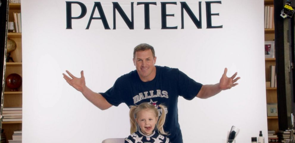 VIDEO: NFL Dads Send Message to Daughters in Viral Pantene Ad