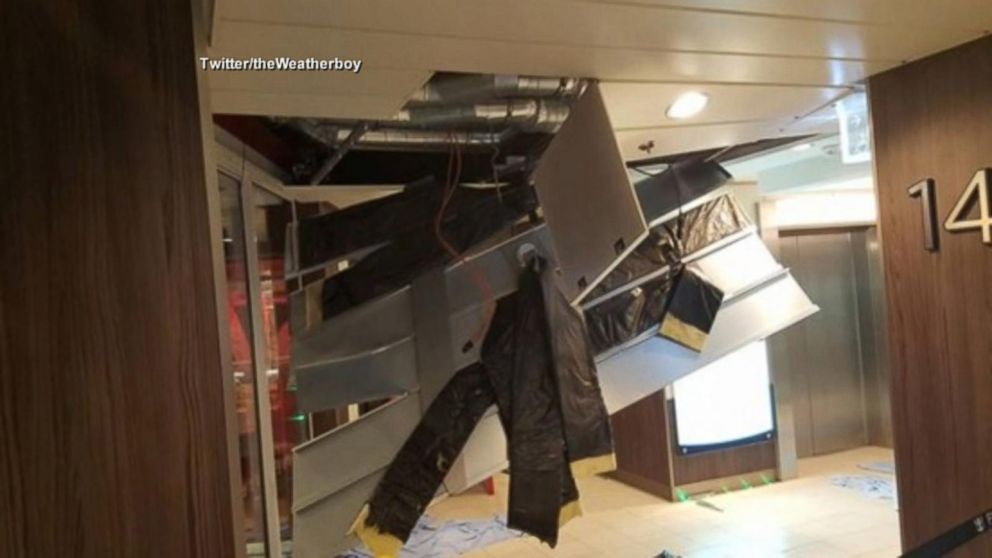 Bahamas-Bound Cruise Ship Caught in Hurricane-Force Winds ...
