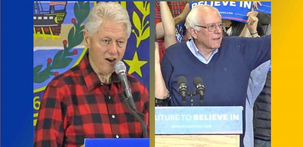 VIDEO: Bill Clinton Takes Aim at Bernie Sanders