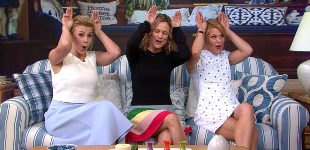 VIDEO: Exclusive: Fuller House Cast Drops in on GMA