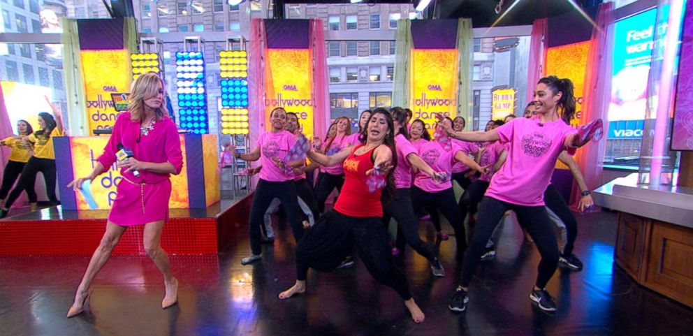 VIDEO: Bollywood Dance Workout Takes Over on GMA