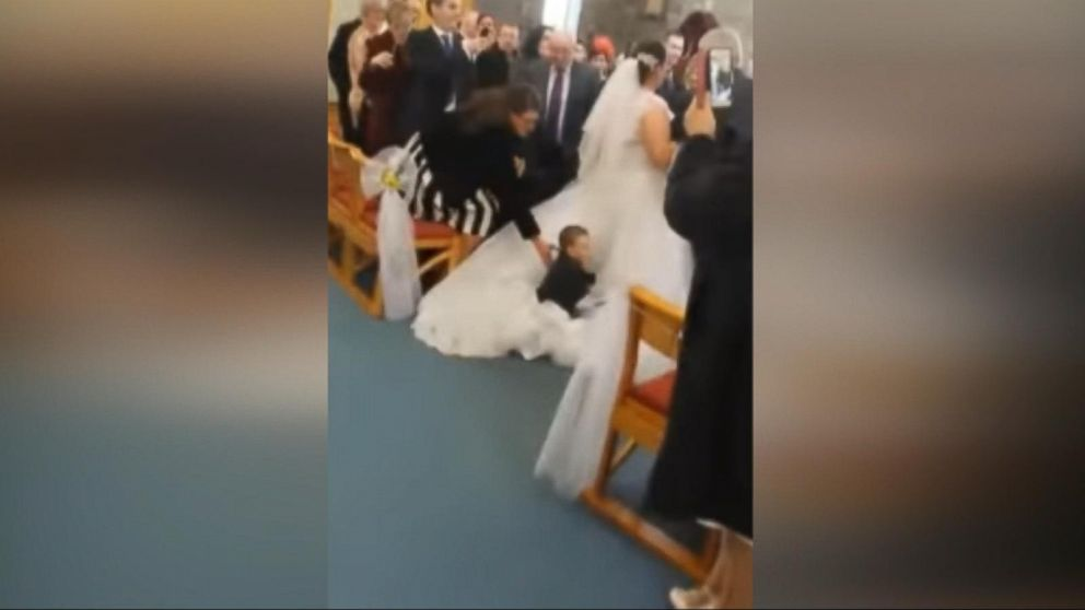 GMA\' Compares Wedding Dress Cleaning Companies Video - ABC News