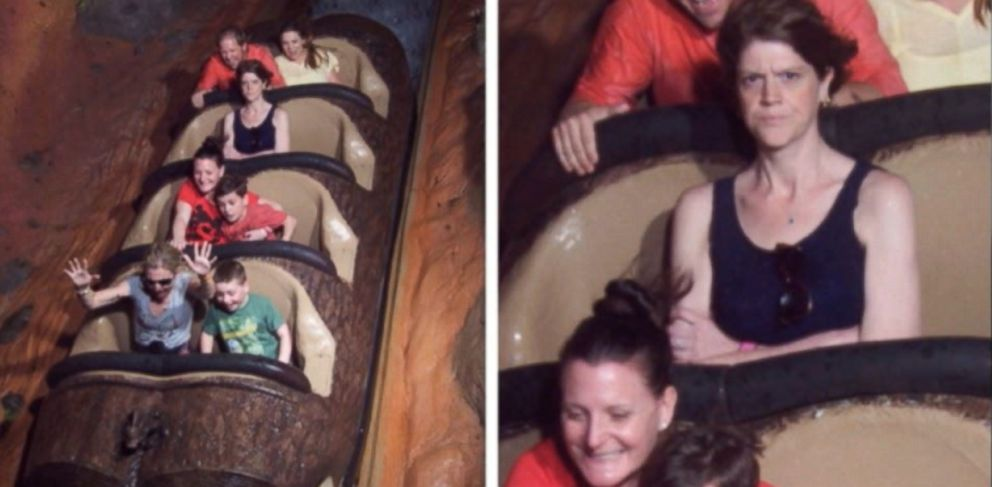 VIDEO: Jordan Alexander rode Splash Mountain by herself when her husband said he was too tired.