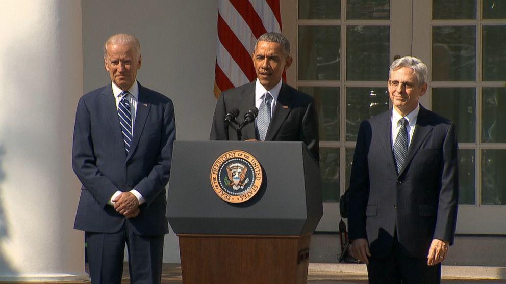 President Obama Nominates Merrick Garland for Supreme Court - ABC News