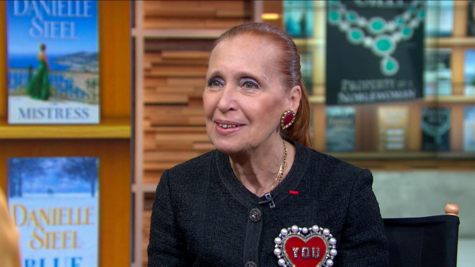 danielle steel  Danielle Steel on 'Really Exciting' New Book, 'Property of a ...