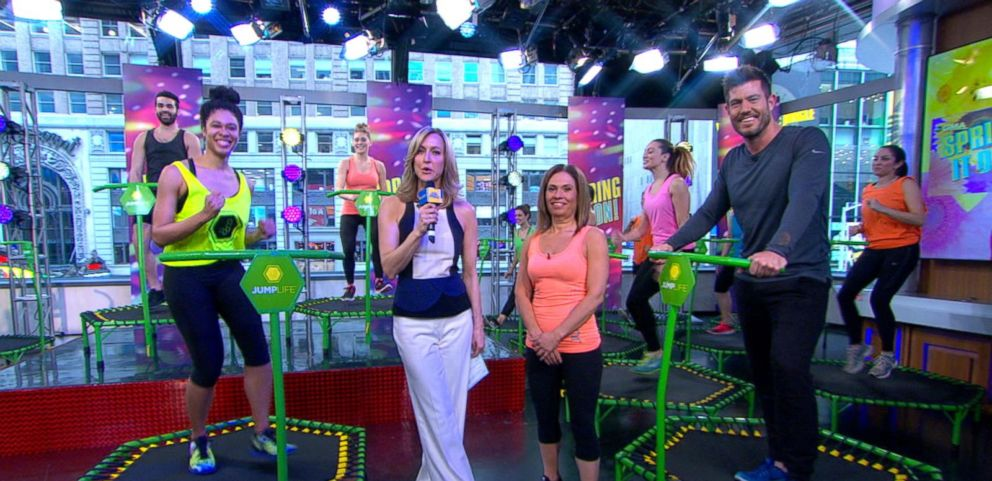 VIDEO: Its Not Just for Kids! Inside the Popular Trampoline Workout