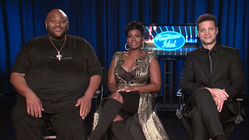 'American Idol' Ends: Fantasia Barrino, Ruben Studdard and Justin Guarini,  Live on 'GMA'