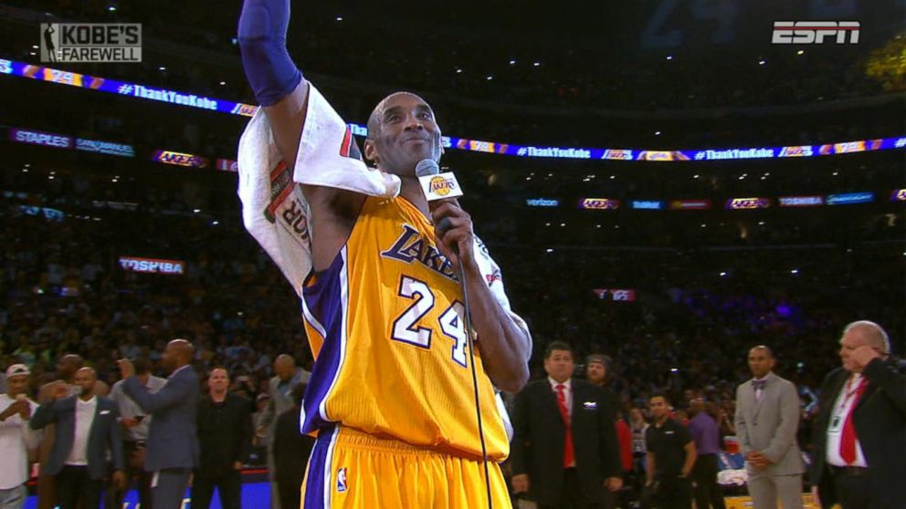 the best attitude 8ff13 29d8f Mamba Out: Kobe Bryant Finishes Final Game with a Storybook ...